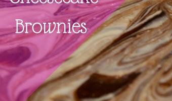 Gluten Free, Dairy Free Cheesecake Swirl Brownies
