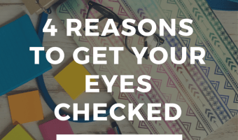 Eye Health is Important + 4 Things to Watch For