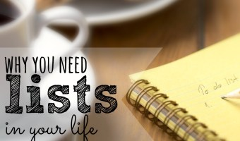 4 Reasons Why You Need Lists in Your Life