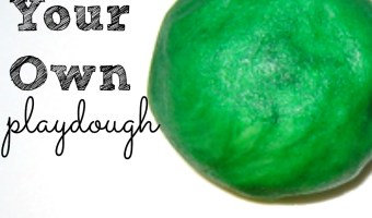 Make Your Own Playdough Recipe   Building Brain Power (& Biceps)