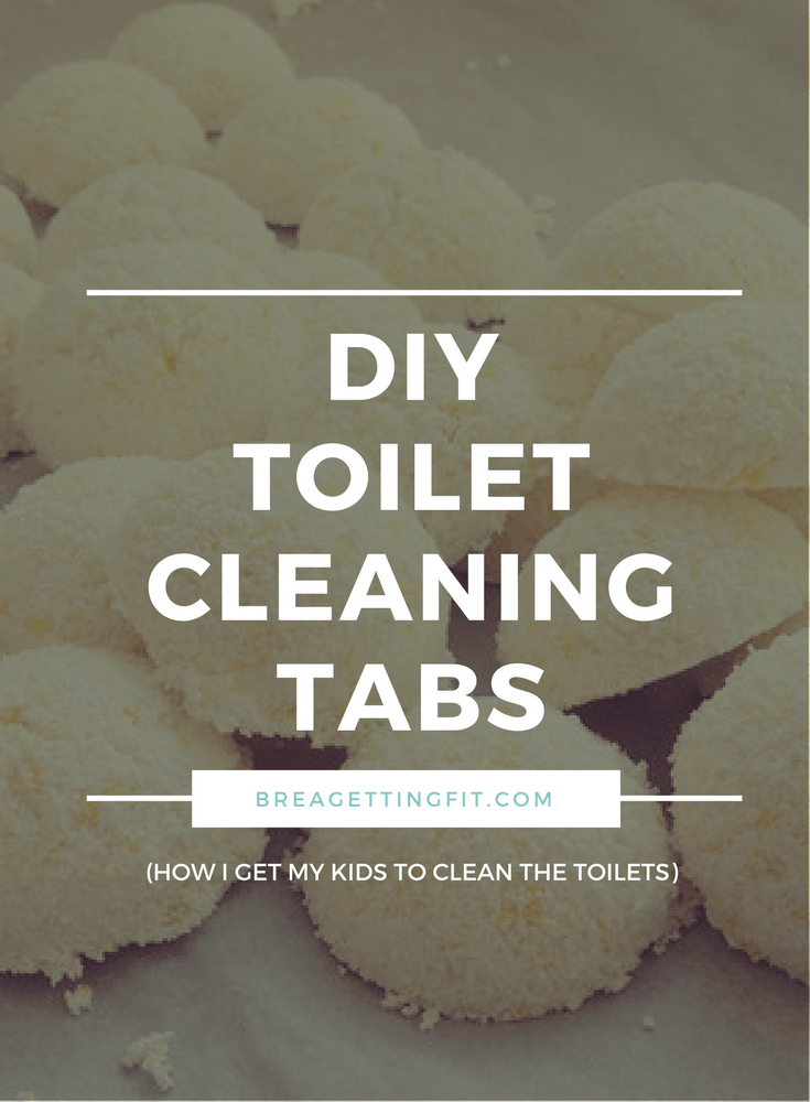 toilet cleaning tabs