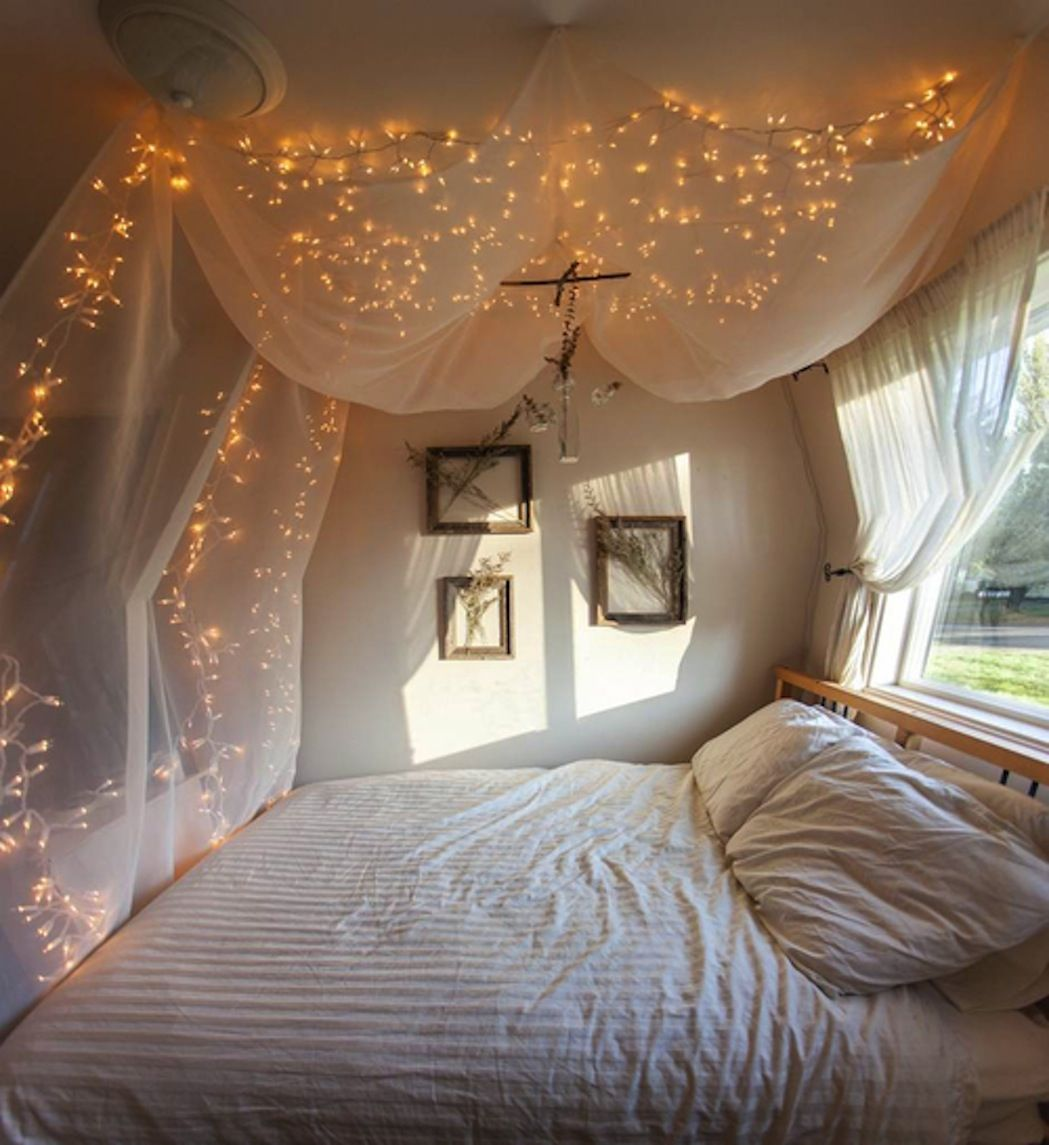 Fairy Lights Kids Room Diy Inspirations A Canopy Bed Breakfast With Audrey