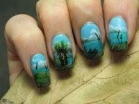 Tropical nail art | Break rules, not nails