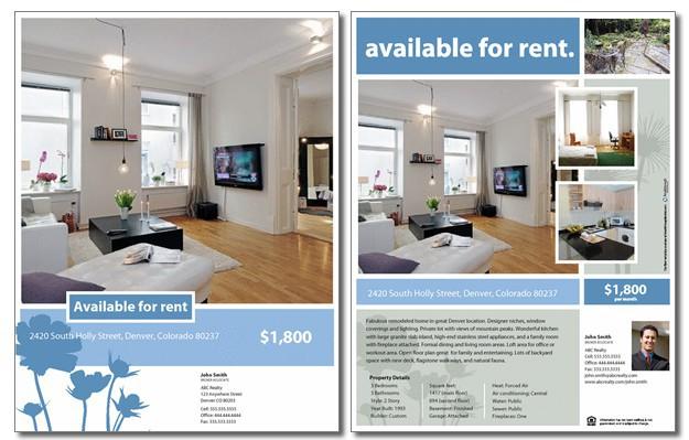 rent flyer - Acurlunamedia - apartment for rent flyer