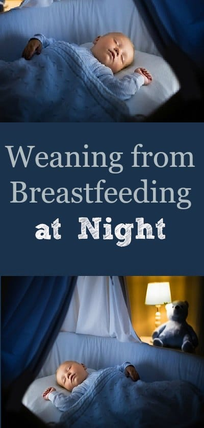Infant Baby Milk Weaning From Breastfeeding At Night