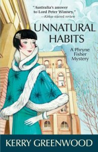 Cover of Unnatural Habits by Kerry Greenwood