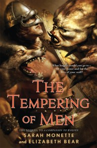 Cover of The Tempering of Men by Sarah Monette and Elizabeth Bear