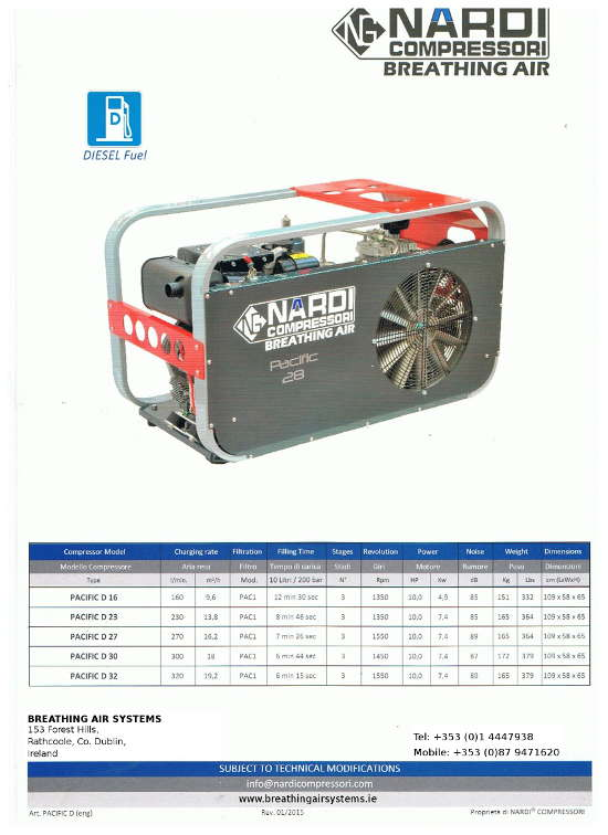 Bauer Compressors High Pressure/ Breathing Air Compressors - Breathing Air