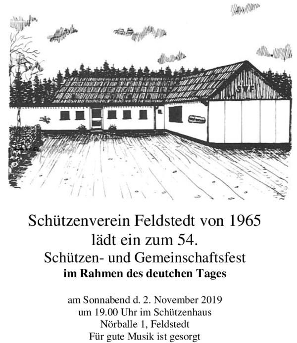 Einladung Feldstedt Kurzform