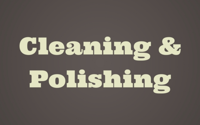 Jewelry Cleaning And Polishing