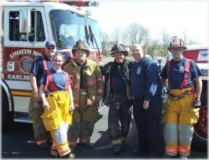 Bree Goldstein firefighter