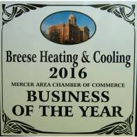 Business of the Year plaque