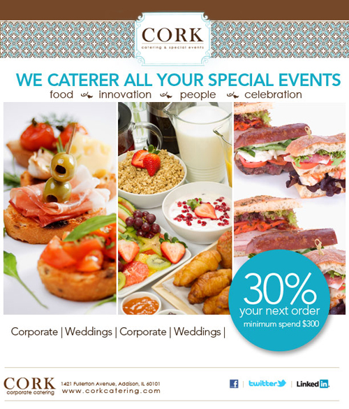 Cork Catering Email Marketing - Visual Images, Web, Photography and