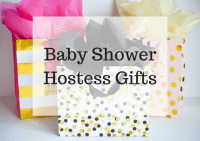 Baby Shower Hostess Gifts - Breezing Through