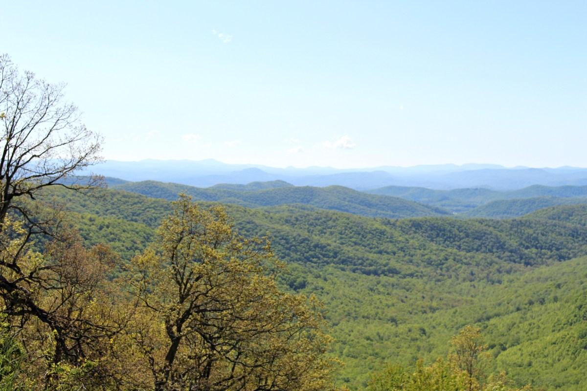 Blue Ridge Parkway Asheville