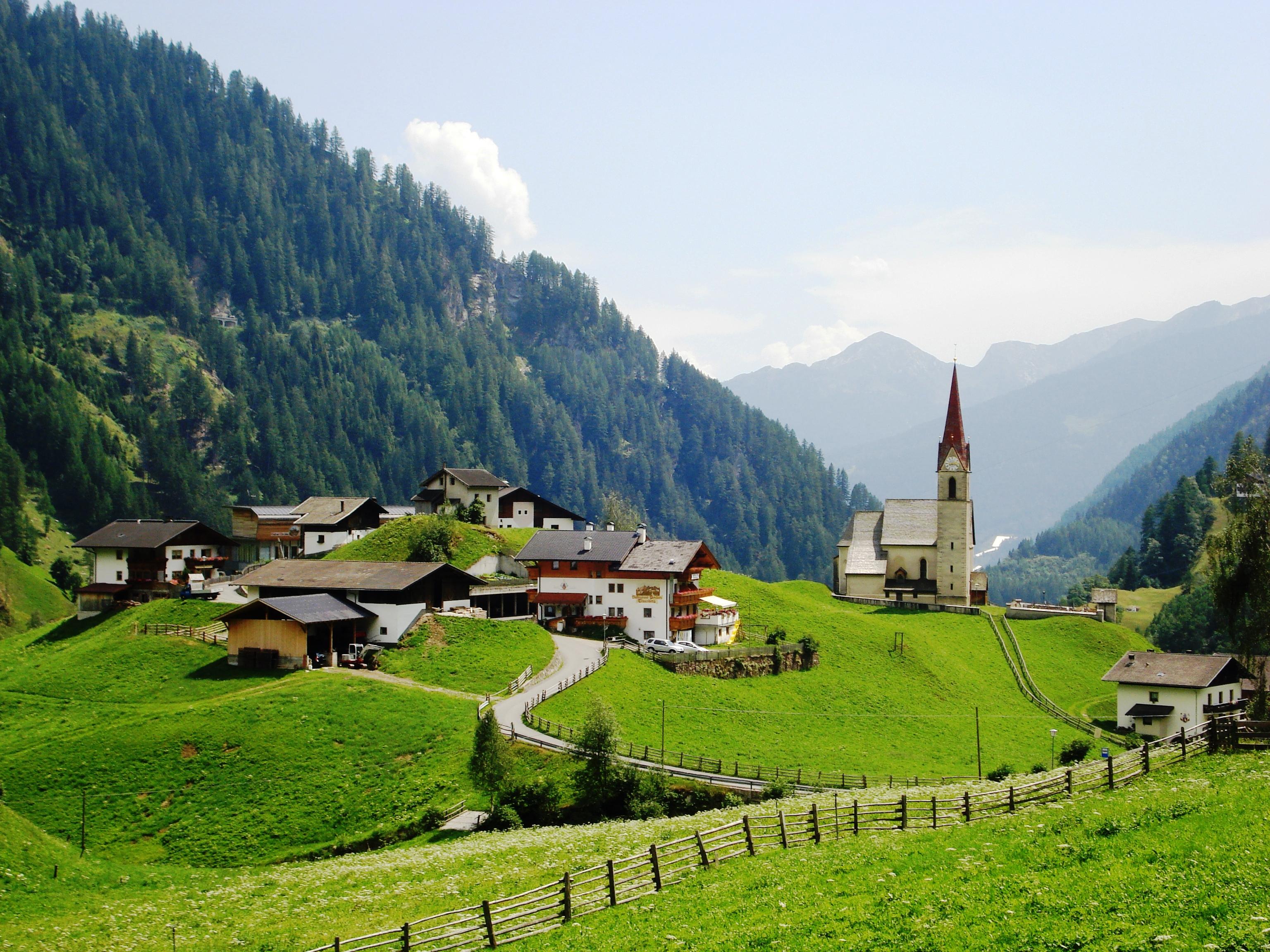 Austria Wallpaper Hd A Short Walk Across The Alps A View From The Breakwater