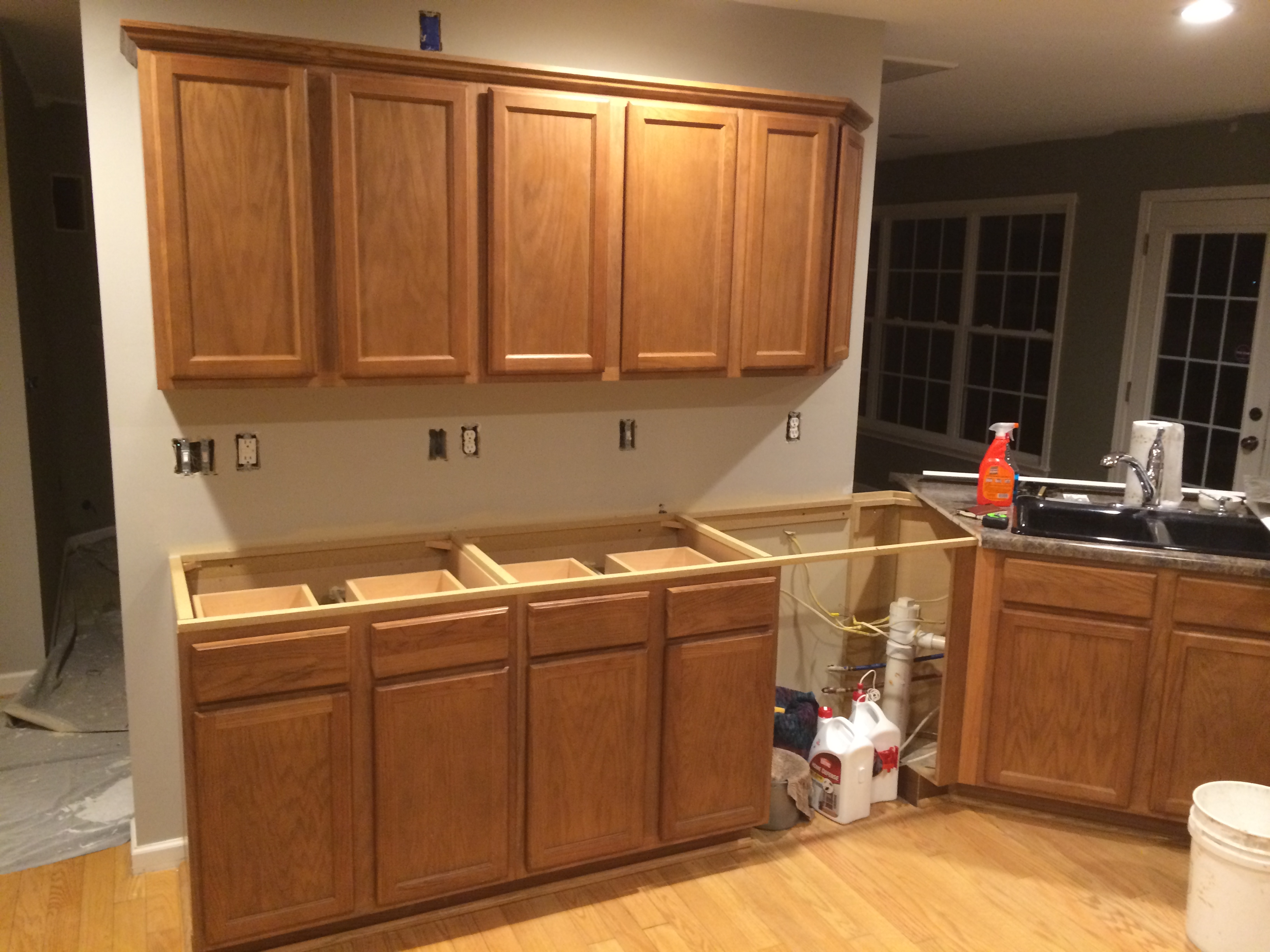 How To Strip And Refinish Kitchen Cabinets Cabinet Refinishing Brendan Carpenter
