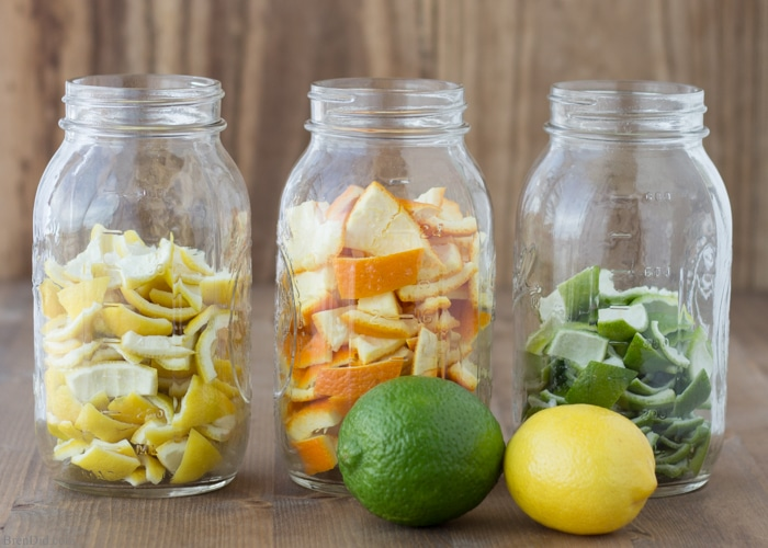 How To Make All Natural Orange Vinegar For Cleaning