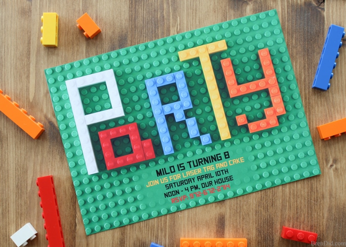 how to make an birthday invitation card step by step