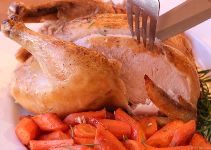 Crazy Easy Roast Chicken In The Slow Cooker - Bren Did