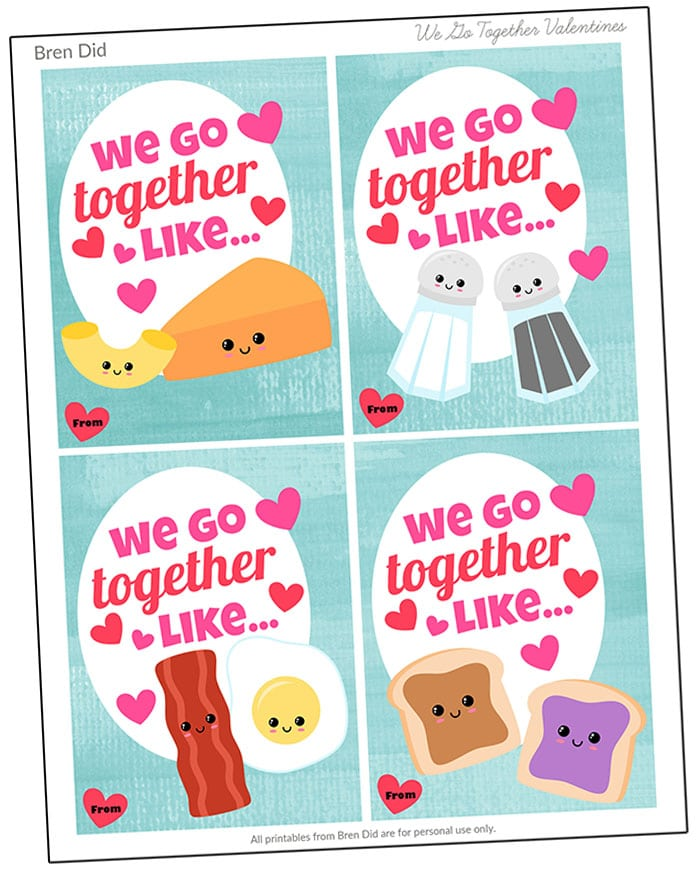 Breakfast BFFs  Free Printable Best Friend Cards - Bren Did