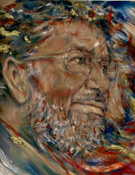 Portrait of Mohamed Morsi of Egypt -- Artist: Katherine Trunk