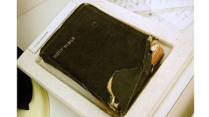 Martin Luther King's Bible used by President Obama