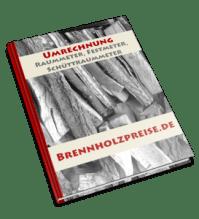 Raummeter Definition und Umrechnung in Schttraummeter