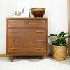 How to Refinish a Mid Century Veneer Dresser