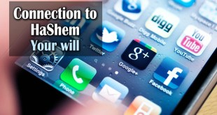 Connection to Hashem | Your Will