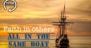 Faith in others | All in the same boat