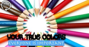 Your true colors | Everyone is important
