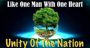 Like One Man With One Soul | Unity Of The Nation