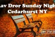 Sunday Night | Cedarhurst NY | Jan 31st 2016