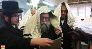 הרב הצדיק רבי יצחק לעזער בברית ביבנאל עיר ברסלב