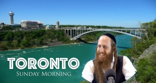 Rav Dror Toronto Tour | Lecture #3 | Sunday Morning