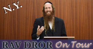 Rav Dror @ Magen David | Connecting your Soul to Modern YOU