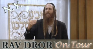 Rav Dror on Tour – Arzei Darom | Fighting for God's Mercy with your Soul