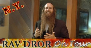 Rav Dror on Tour – How To FEEL Alive In Judaism, Very Inspiring!