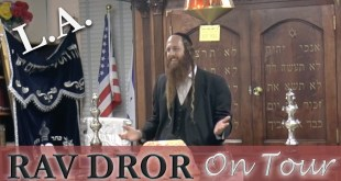 Rav Dror on Tour – Los Angeles 7/25/16 | Powerful Talk on Spiritual Confidence