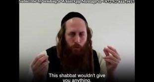 Breaking Our Desires on Shabbat