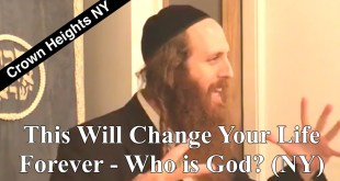 This Will Change Your Life Forever ~ Who is God? (NY)