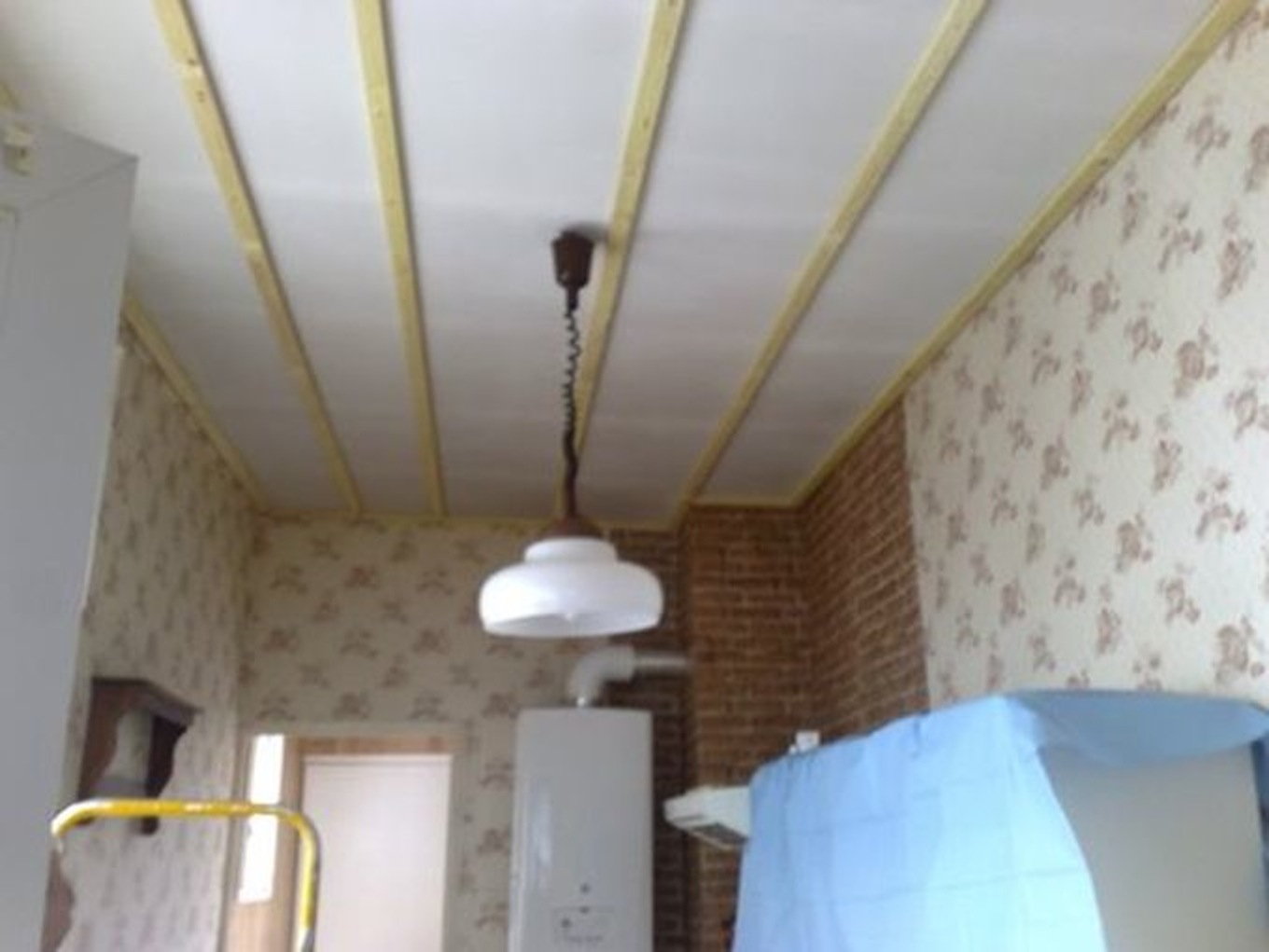 Poser Du Lambris Bois Au Plafond Faux Plafond Video Isolation Idées