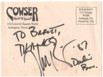 """Jeff """"Skunk"""" Baxter autograph"""