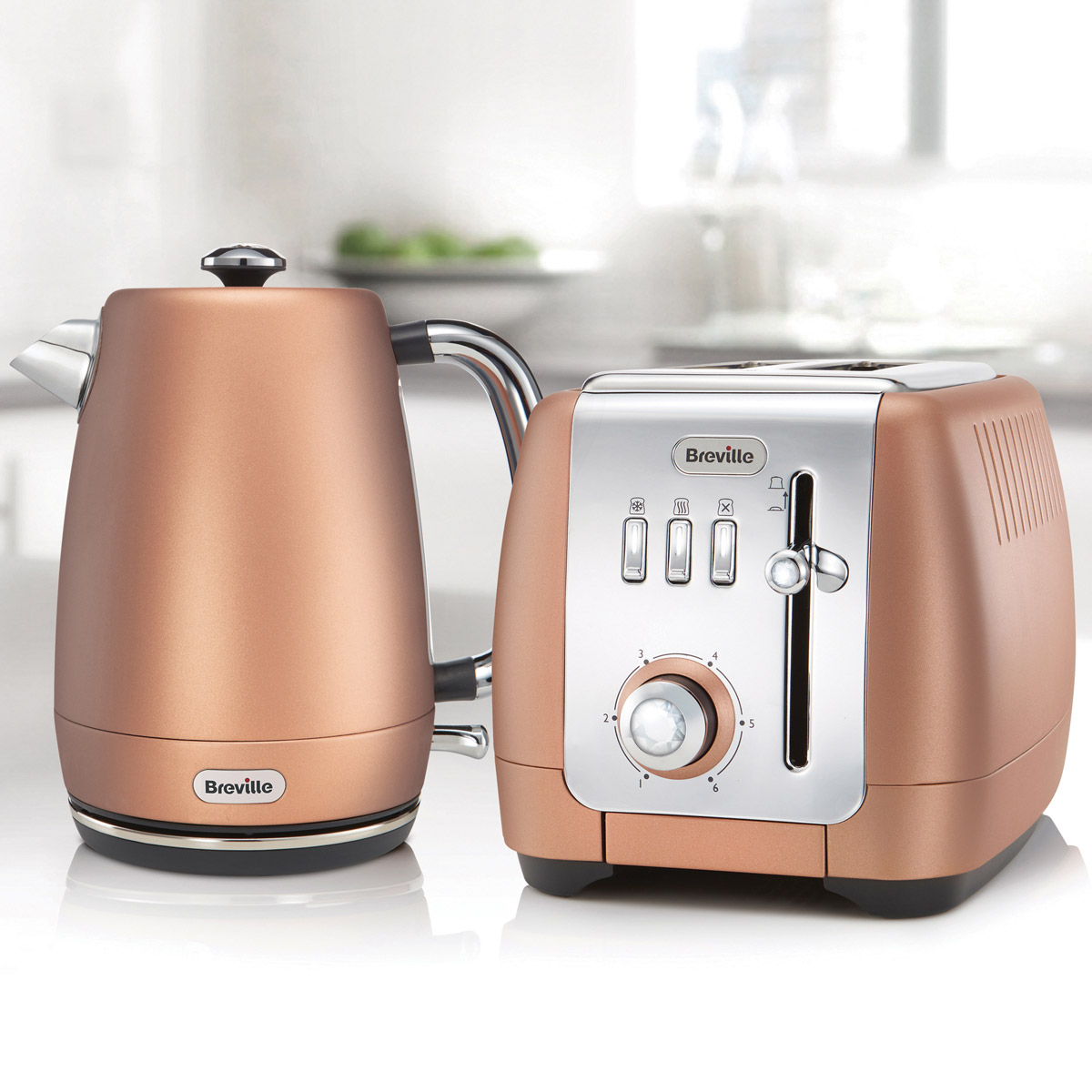 Bollitore Delonghi Strata Luminere Jug Kettle And 2 Slice Toaster Set Rose