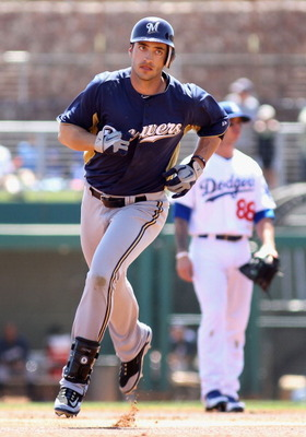 Odds of Each Player on Milwaukee Brewers' 25-Man Roster to Make 2012 MLB All-Star Game (3/6)