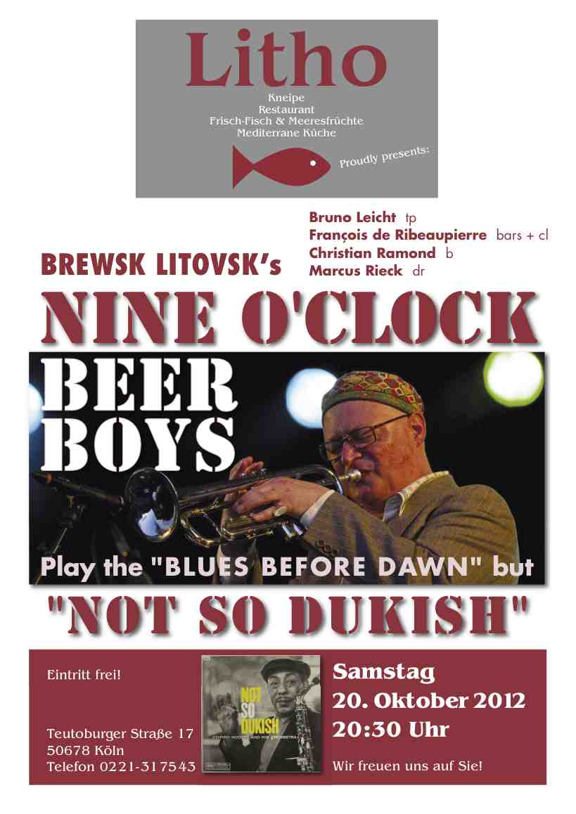 Station 66 Mediterrane Küche In Concert Brewsk Litovsk S Nine O Clock Beer Boys Live