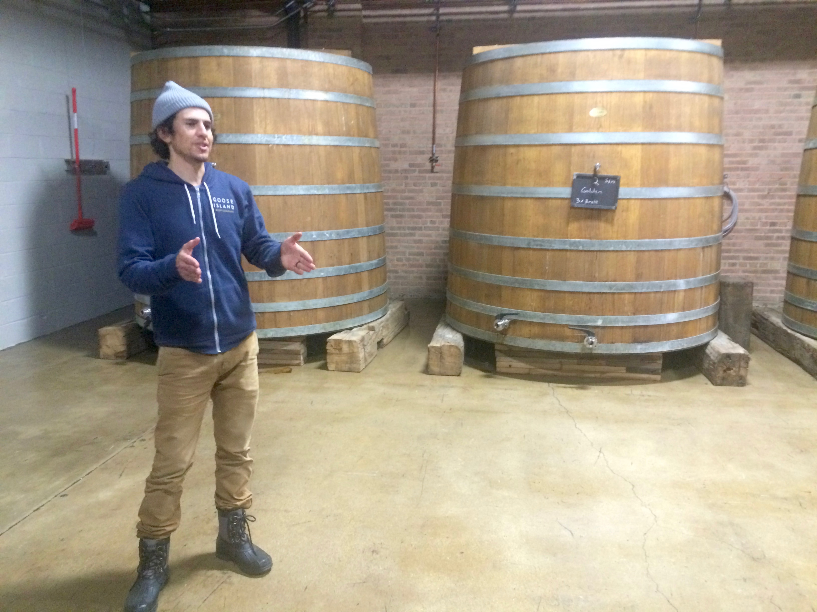Logsdon Farmhouse Ales Eric Ponce Departs Goose Island To Become Head Brewer At