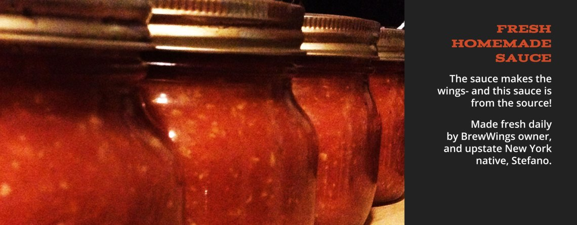 Fresh Homemade Sauce