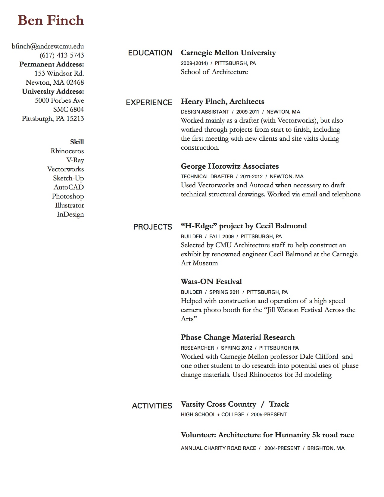 Cover Letters Sample Cover Letters Resume Cover Letters Resume Rough Draft Ben Finch Cdf